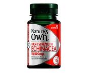 Natures Own Echinacea 10,000mg 30 Capsules