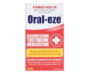 Oral Eze Dental Emergency Toothache Medication 5ml