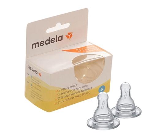 Medela Spare Teats Slow Flow 2 Pack