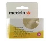 Medela Spare Teats Medium Flow 2 Pack