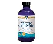 Nordic Naturals Arctic Cod Liver Oil Plain 237ml
