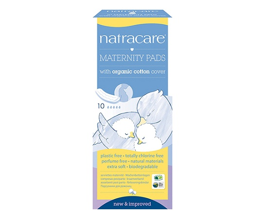 Natracare Maternity Pads 10 Pack
