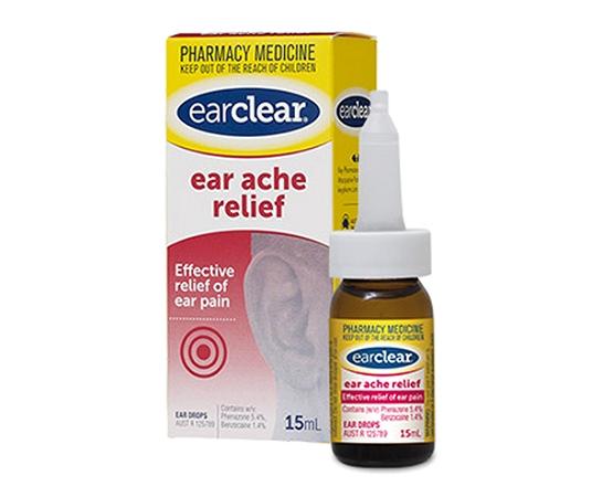EarClear Ear Ache Relief 15ml