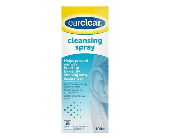 EarClear Ear Cleansing Spray 100ml