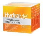 Hydralyte Electrolyte Powder Orange 10 Sachets