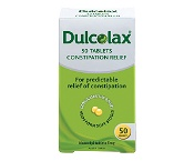 Dulcolax Laxatives for Constipation Relief 50 Tablets
