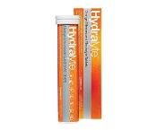 Hydralyte Effervescent Electrolyte Tablets Orange 20 Pack
