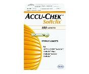 Accu-Chek Softclix Lancet 100 Sterile Lancets