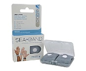 Sea Band Wrist Bands for Adults 2 Pack (Assorted Colours)