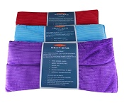 Surgical Basics Silicone Heat Bag Corduroy Cover 18cm x 38cm (Colours selected at random)