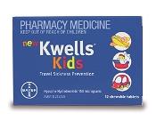 Kwells Kids 12 Chewable Tablets
