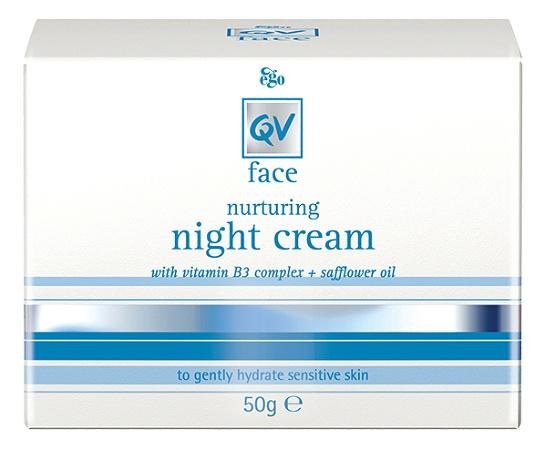 Ego QV Face Nurturing Night Cream with Vitamin B3 Complex 50g