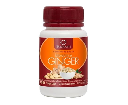 Lifestream Bioactive Ginger 30 Capsules