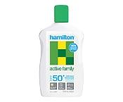 Hamilton Sunscreen Active Family SPF50 250ml