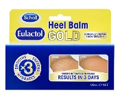 Scholl Eulactol Heel Balm Gold 120ml