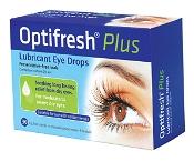 Optifresh Plus Lubricant Eye Drops 30 Vials