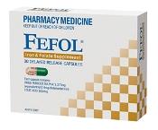 Fefol Iron & Folate 30 Capsules