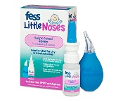 Fess Little Noses Saline Nasal Spray 15ml + Aspirator