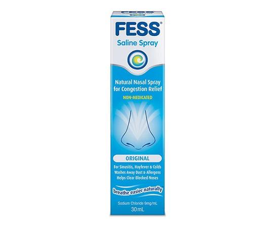 Fess Nasal Saline Spray 30ml