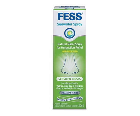 Fess Nasal Seawater Spray for Sensitive Noses 30ml