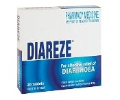 Diareze 2mg 20 Tablets