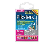Piksters Size 0 Grey 40 Pack