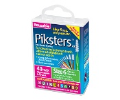 Piksters Size 6 Green 40 Pack
