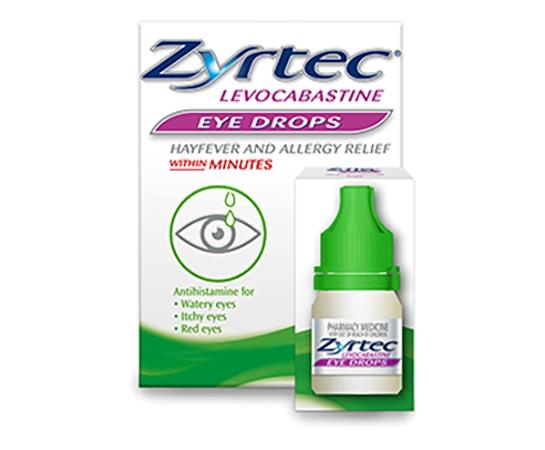 Zyrtec Antihistamine Eye Drops 4ml