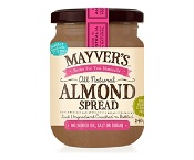 Mayvers Natural Almond Spread 240g