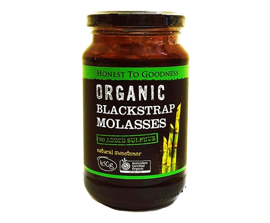 Honest to Goodness Organic Blackstrap Molasses 450g