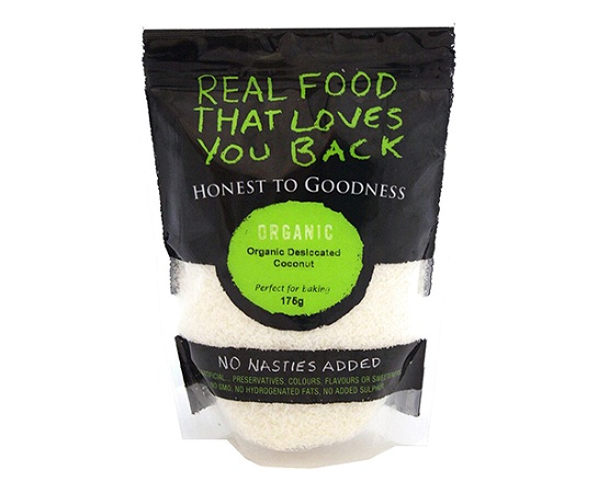 Honest to Goodness Organic Coconut Fine Desiccated 175g