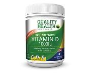 Quality Health High Strength Vitamin D 1000iu 300 Capsules