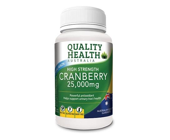 Quality Health Cranberry 25,000mg 60 Capsules