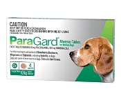 Paragard All Wormer For Dogs 5-10kg 4 Tablets