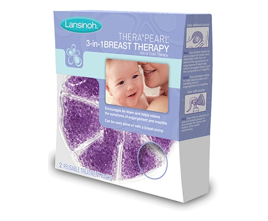 Lansinoh Therapearl 3In1 Breast Therapy 2 Reusable Pads